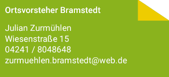 Ortvorsteher/-in Bramstedt©Stadt Bassum